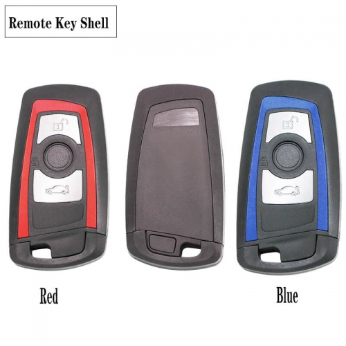 3 Button Smart Remote Key Shell for BM*W CAS4 F 1 3 5 7 Series 2009-2016