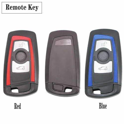 3 Button Remote Key FSK 315 / 433 / 868MHz PCF7953 for BM*W F Chassis FEM / BDC CAS4 CAS4+