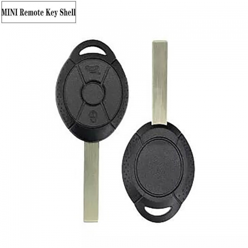 Replacement Remote Car Key Shell 3BTN For MINI