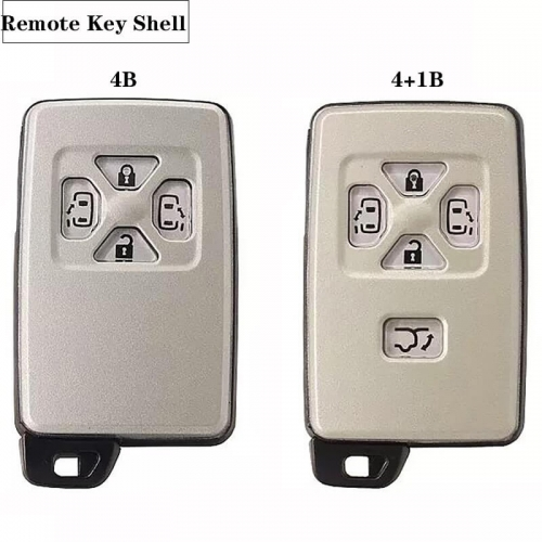Remote Key Shell 4/5 Button For Toyot*a Previa