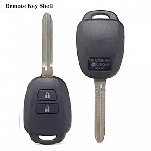 2BTN Remote Control Key Shell TOY43 For Toyot*a