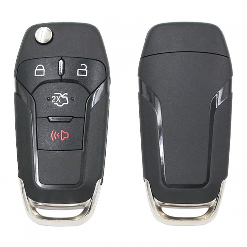 3+1Button 315MHz Remote Key 49chip HU101 FCC ID:N5F-A08TAA For Ford Foreus