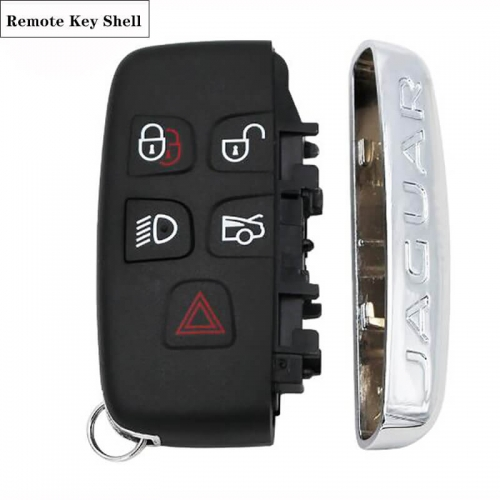 5 Button Smart Remote Key Shell for JA*GUAR XJ XJL XF