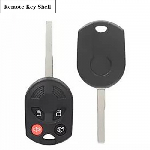 Remote Key Shell (3+1)buttons For Ford