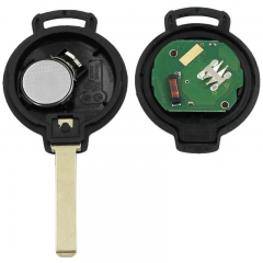 3 Buttons Smart Remote Key 315/433Mhz with ID46 (7941 ) Chip, CR2016 Battery for MB Smart-451 2007-2013