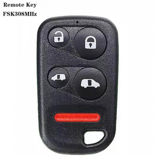4+1button FSK308MHz Remote Key For US Hond*a