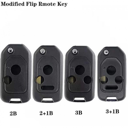 Remote Key Shell 2/2+1/3/3+1 Buttons HON66 For USA Hond*a