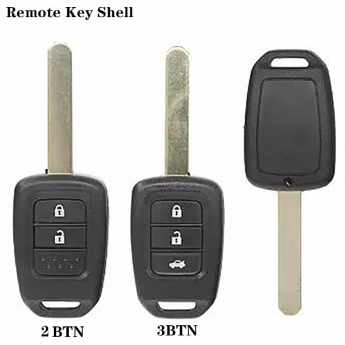 Remote Key Shell 2/3Buttons HON66 For USA Hond*a