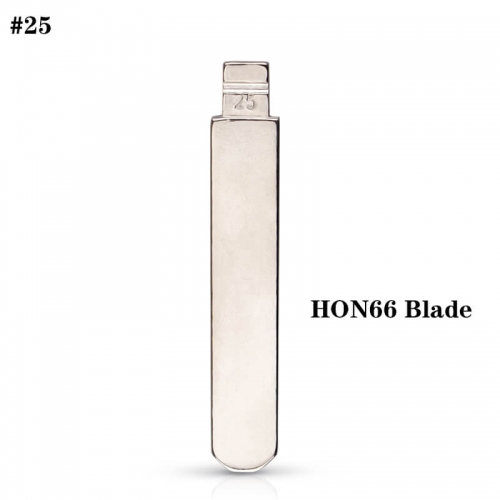 #25 Uncut Key Blade HON66 Blade For Hond*a Accord Civic Odysse*y Civic City BYD