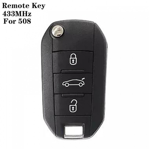 Remote Key 433MHz ID46 Chip For peogueo*t 508