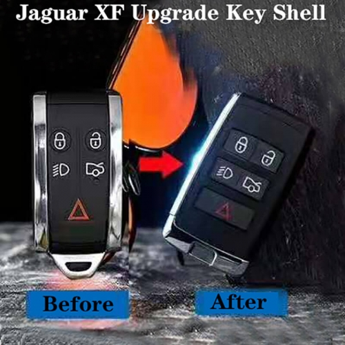Upgrade Smart Key Shell 5 Buttons for Jagua*r XF