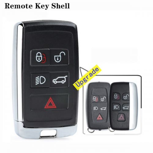 Upgrade LandRover Smart Key Shell 5 Buttons for Land*Rover Evoque Discovery 4