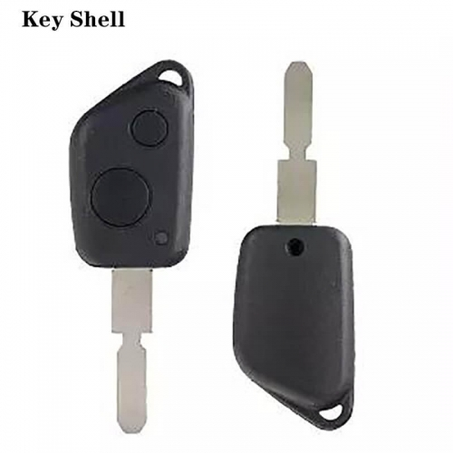 Remote Key Shell 2 Button NE78 For Peogueo*t 406