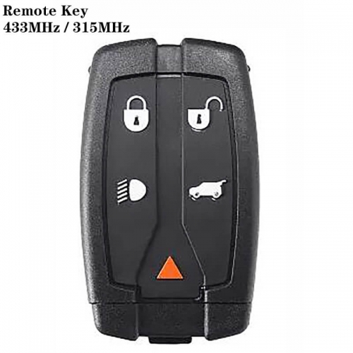 4+1button 315MHz/ 433MHz Remote Key HU101 For Freelander2 Land Rove*r