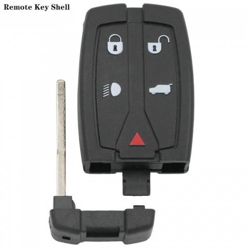 4+1button Remote Key Shell HU101 Blade  For Freelander2 Land Rove*r
