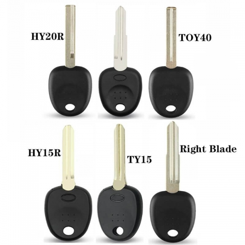 Transponder Key Shell For Kia K2 Straight For Hyunda*i Accent Sonata Elantra Accent Reina