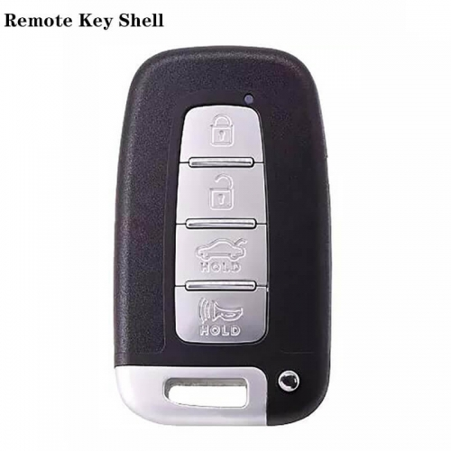 4 Button Remote Key Shell For HYUNDA*I