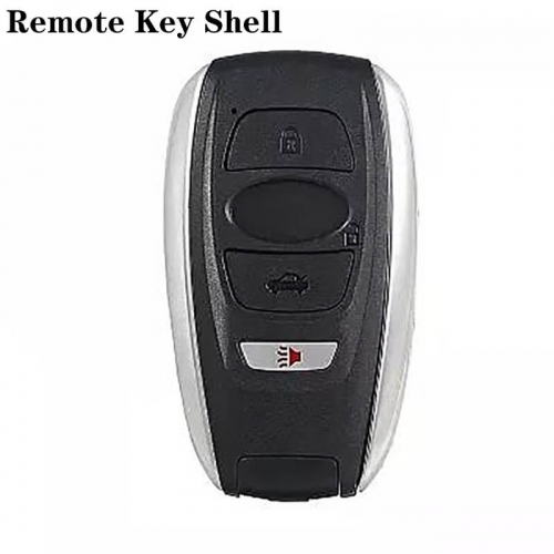 3+1Button Smart Remote Key Shell For SUBARU