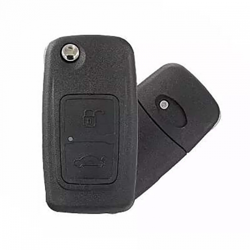 2 Button Folding Smart Remote Key Shell For CHERY
