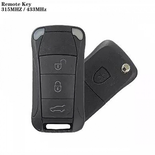 3 Button Remote Control 315MHz / 433MHZ For Posrch*e Cayenne Year 2004-2012