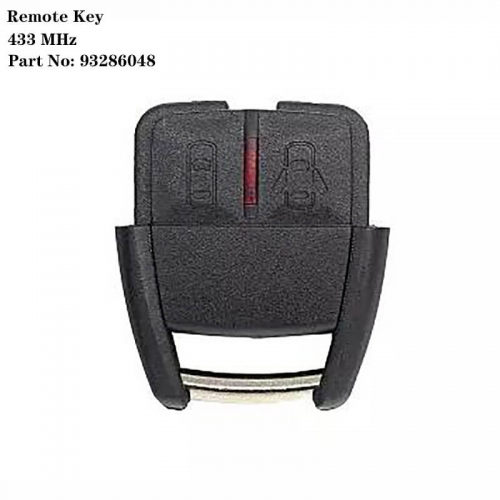 Remote Key 2 Buttons 433MHZ Part NO: 93286048 For Ope*l