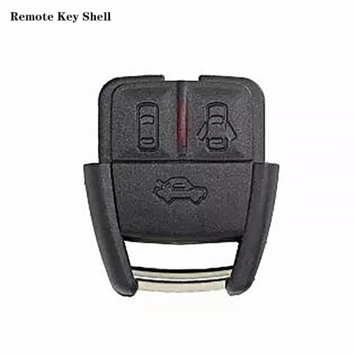 Remote Key Shell 3Buttons For Ope*l