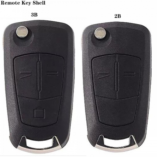 2/3Button Folding Remote Shell HU100 For Ope*l