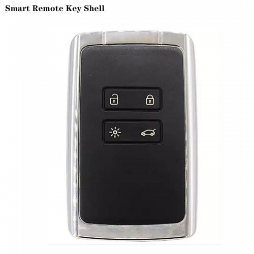 Smart Remote Key Shell 4 Buttons For Renaul*t Kadjar Koleos
