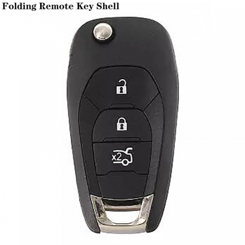3Button Folding Remote Key Shell HU100 For Chevrole*t