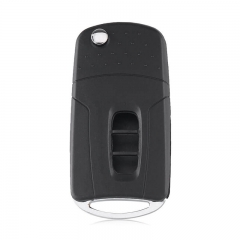 Modified Flip Folding 3 Buttons Remote Car Key Shell For Chevrole*t Captiva 2006-2009