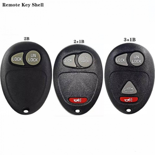 2/2+1/3+1Button Remote Key Shell For Buick
