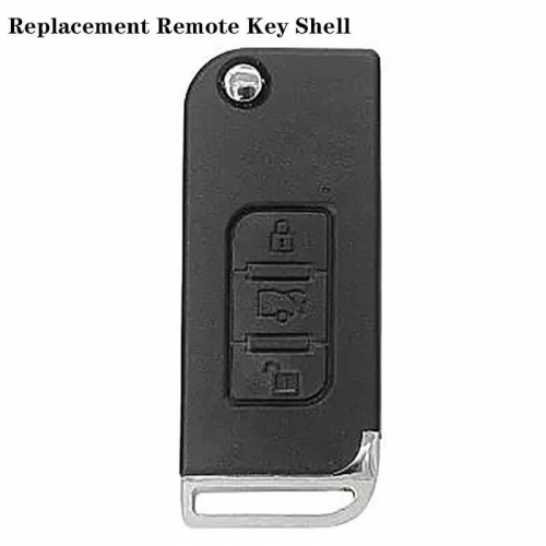 Replacement Remote Key Shell 3B Mahindra (Only For India)