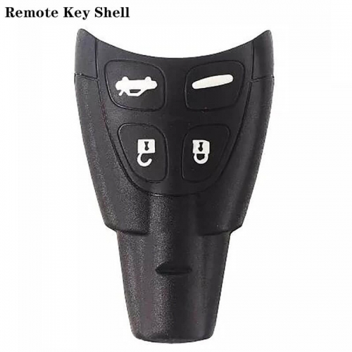 Replacement Remote Key Shell 4Buttons For SAAB